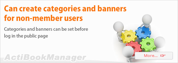 Create categories and banners for non-members